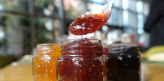 Hibiscus-strawberry-jam